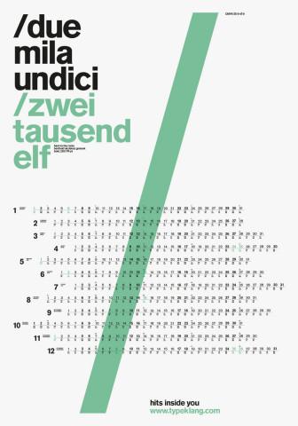 typeklang calendar 2011